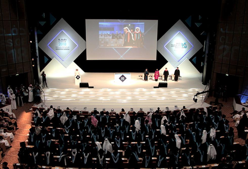 جامعة حمد بن خليفة تقوم بتخريج أول دفعة من طلاب الدكتوراه