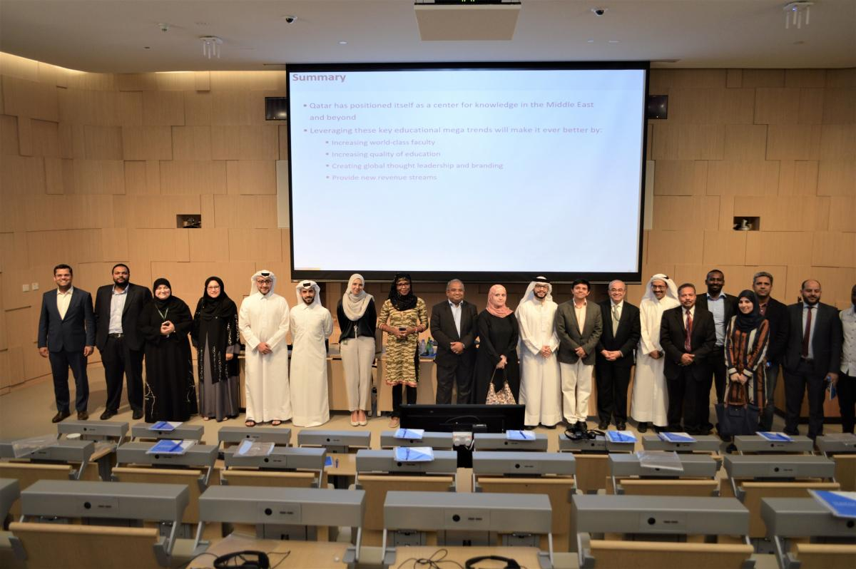 MIT Lecturer Addresses 'The Future of Learning' at HBKU's College of Islamic Studies