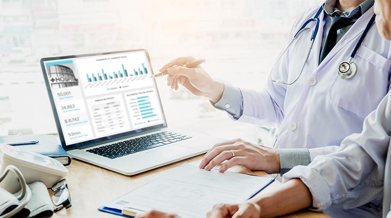ماجستير تحليل البيانات في الإدارة الصحية