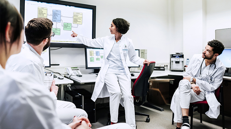 ماجستير نظم المعلومات في الإدارة الصحية