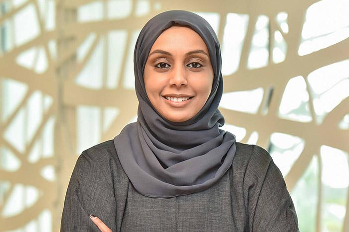 نائلة محمود، طالبة في جامعة حمد بن خليفة