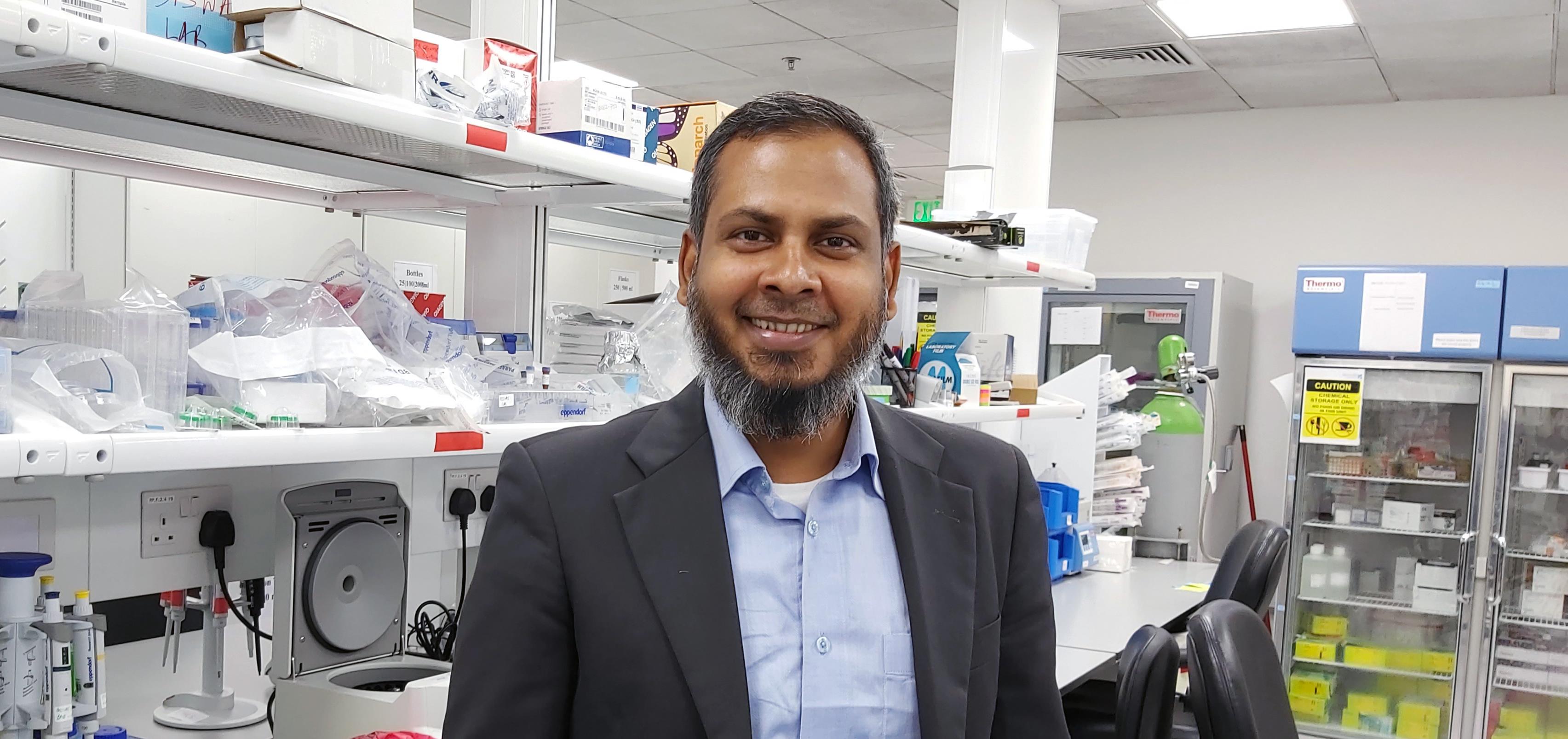 Dr. Kabir H. Biswas, Assistant Professor at CHLS, is...