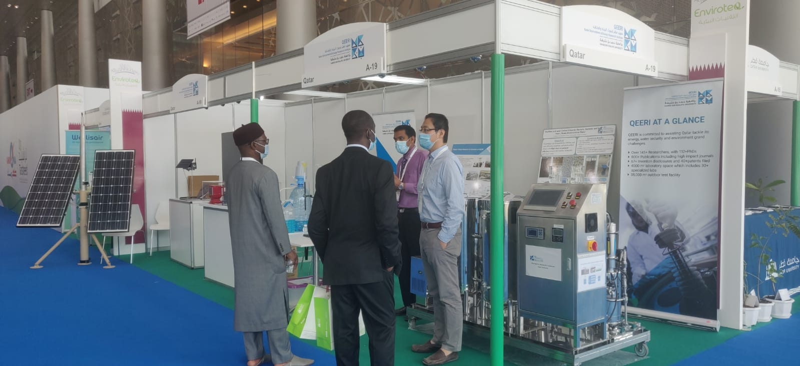 Qatar Environment and Energy Research Institute Showcases...