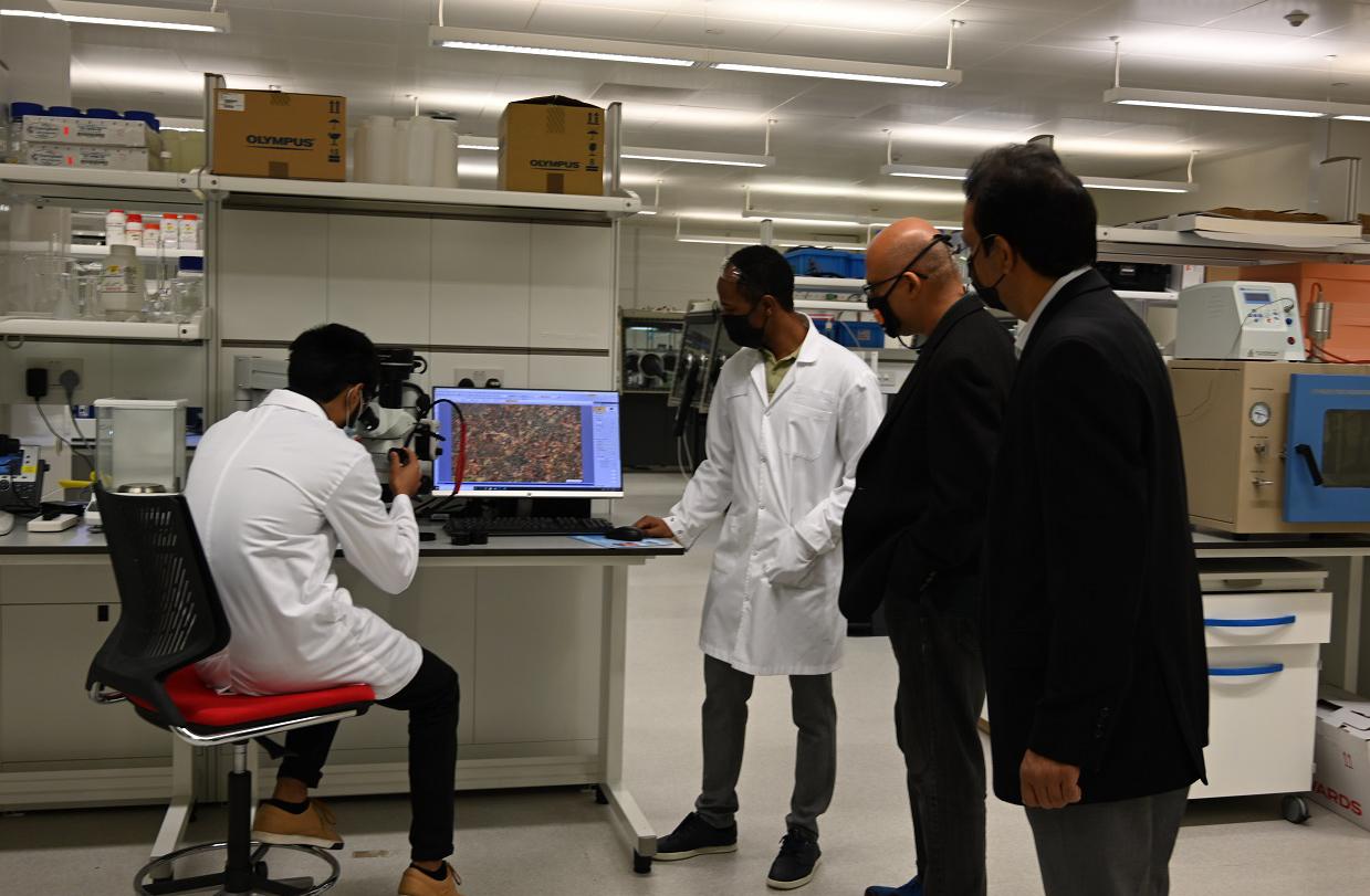 معهد قطر لبحوث البيئة والطاقة ينال اعتماد الأيزو عن...