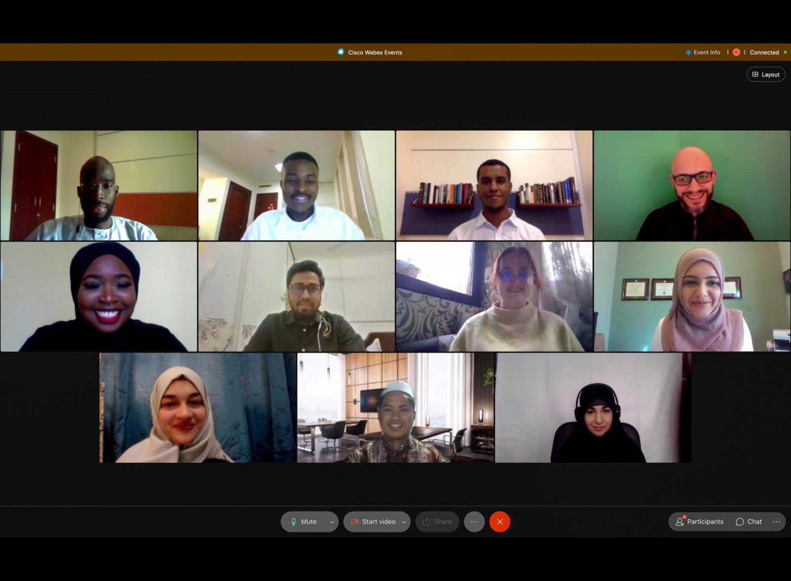 كلية الدراسات الإسلامية تختتم مؤتمر بحوث الطلاب 2021