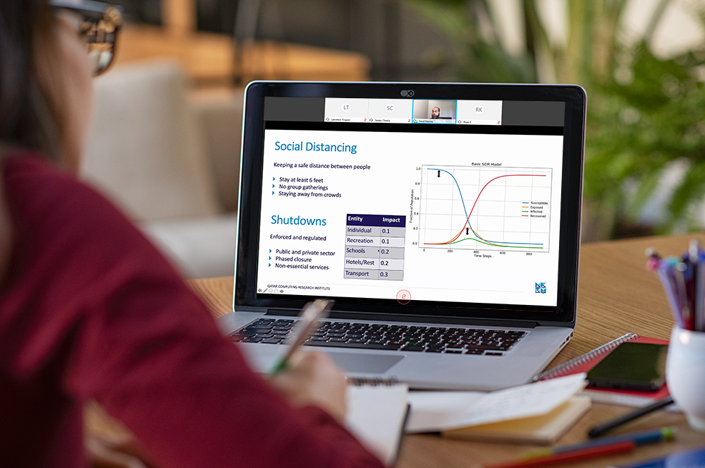 Qatar Computing Research Institute Continues Webinar...