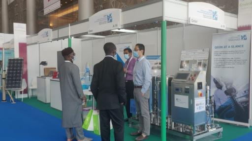 Qatar Environment and Energy Research Institute Showcases Research and Applied Solutions at AgriteQ and EnviroteQ 2021
