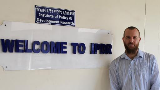 Doctoral Students at Ethiopia's Hawassa University Develop Evaluation Expertise with CPP Professor