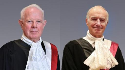 HBKU's College of Law Announces Lord Thomas of Cwmgiedd and Sir William Blair as Honorary Fellows