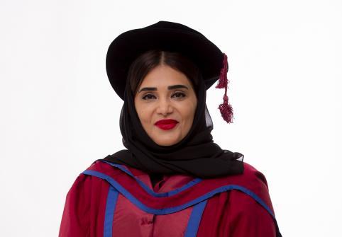 Exclusive Statement for Graduation - Dr. Amal Al-Malki