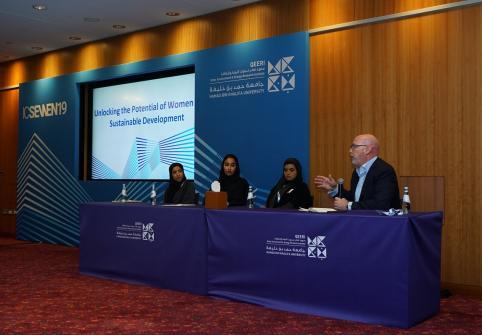 معهد قطر لبحوث البيئة والطاقة بجامعة حمد بن خليفة يستهل مؤتمره العالمي في مركز قطر الوطني للمؤتمرات