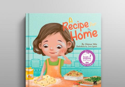HBKU Press's children's book, A Recipe for Home, named winner in the 2018 Purple Dragonfly Book Awards