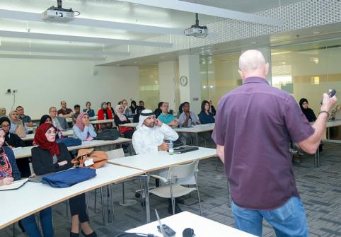 HBKU's College of Health and Life Sciences Seminars Enrich Students' Learning Experiences