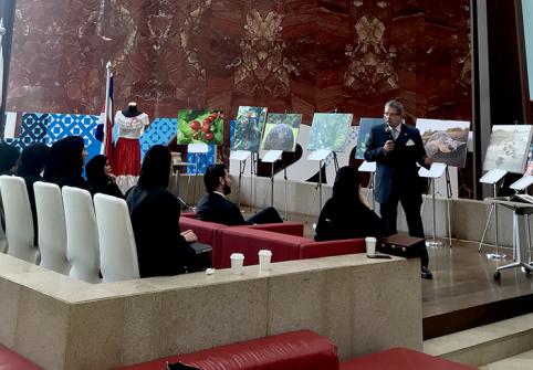 Ambassador of Costa Rica Visits Hamad Bin Khalifa University
