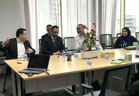 Hamad Bin Khalifa University Students Explore Huawei Internship Program