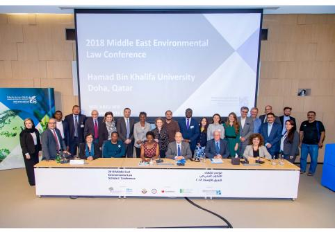 The College of Law at Hamad Bin Khalifa University will be a strategic partner in the Association of Environmental Law Lecturers in Middle East and North African Universities' annual conference (archived image).