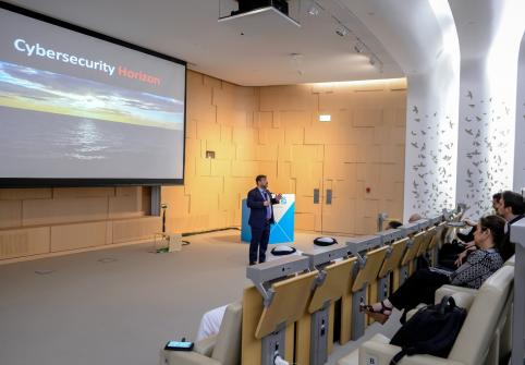 The College of Science and Engineering at Hamad Bin Khalifa University recently organized the Adapting to the Threat Within the Digital Revolution cybersecurity talk.