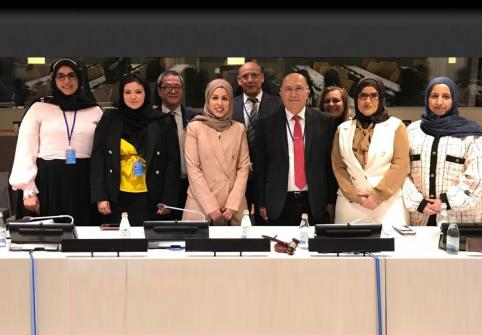 التجربة القطرية الرائدة في استخدام التكنولوجيا المساعدة لدعم الأشخاص ذوي التوحد في الدورة الثانية عشرة لمؤتمر الدول الأطراف في اتفاقية حقوق الأشخاص ذوي الإعاقة