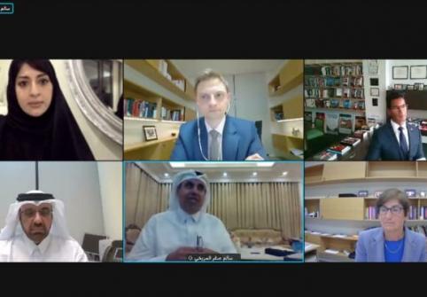 كلية القانون بجامعة حمد بن خليفة تعقد ندوة عامة حول الديمقراطية ودستور دولة قطر
