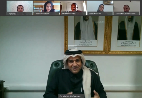 College of Islamic Studies Welcomes HE Dr. Mutlaq Al Qahtani's In-Depth Diplomatic Experiences