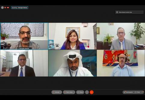 كلية العلوم الصحية والحيوية بجامعة حمد بن خليفة تسلط الضوء على برامج الدراسات العليا في جلسة تعريفية عبر الإنترنت