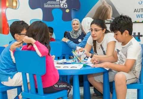Qatar Biomedical Research Institute Raises Autism Awareness
