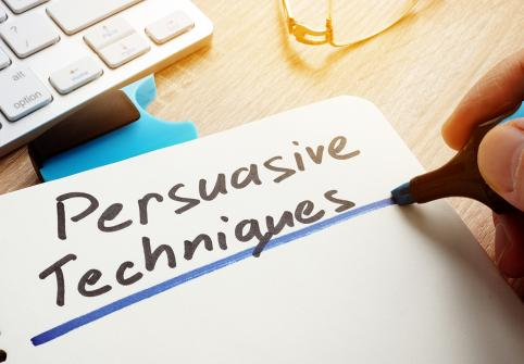 Can Technology Persuade and Help to Change Behavior?