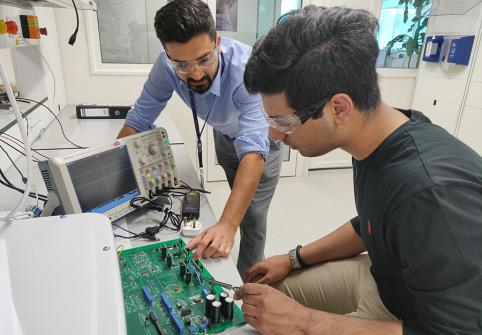 HBKU's Qatar Environment and Energy Research Institute Mentors Undergraduate Research Scientists