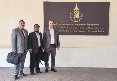 College of Islamic Studies Faculty Leads Course at Thailand University