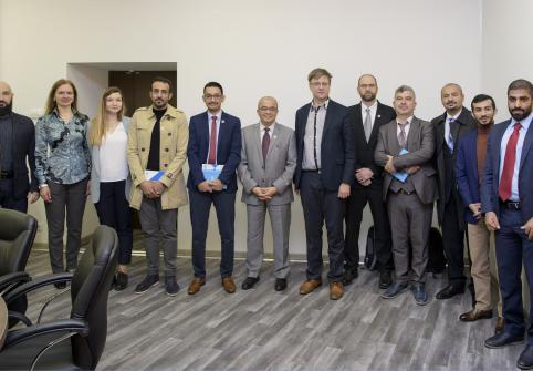 Skolkovo Institute for Law and Development hosts HBKU's delegation.