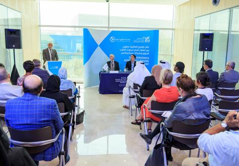 Qatar Biomedical Research Institute, part of Hamad Bin Khalifa University, signed an agreement with Sengenics, a global biotechnology company.