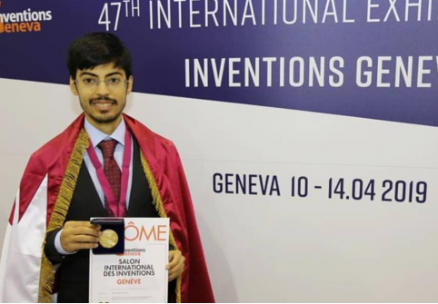Student at HBKU's College of Science and Engineering Awarded for Innovative Solutions in Geneva
