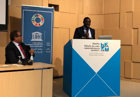 Dr. Damilola Olawuyi, Associate Professor at the College of Law at Hamad Bin Khalifa University, and Chair of the Association of Environmental Law Lecturers in Middle and North Africa.