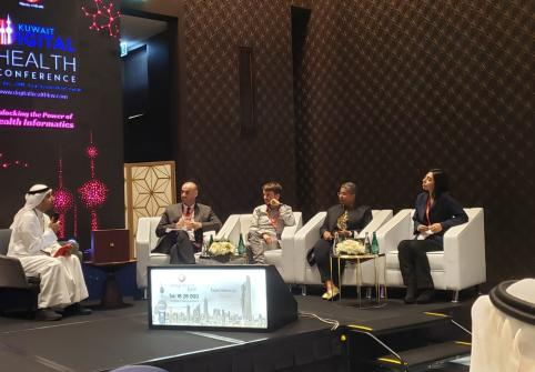 College of Science and Engineering Faculty Member Participates in Kuwait Digital Health Conference