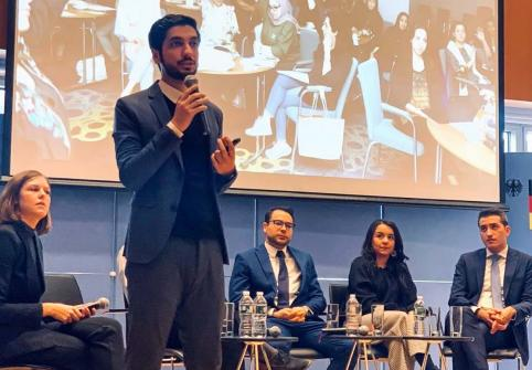HBKU College of Islamic Studies Student Delivers Talk at UN Headquarters