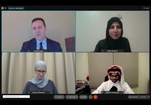 HBKU's College of Islamic Studies Holds Virtual Graduate Studies Information Session