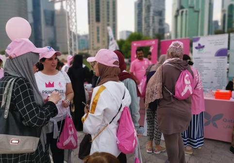 اختتم معهد قطر لبحوث الطب الحيوي، التابع لجامعة حمد بن خليفة، مؤخرًا، حملته التوعوية بسرطان الثدي.