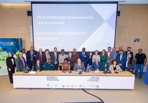 كلية القانون بجامعة حمد بن خليفة تفتح باب التسجيل للمشاركة في مؤتمر فقهاء القانون البيئي 2019 بالمغرب
