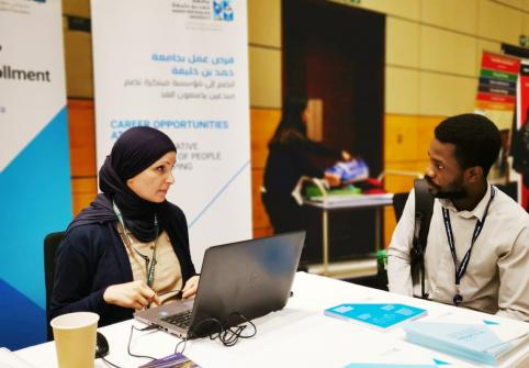 HBKU Showcases Graduate Programs and Employment Opportunities at Education City Career Fair 2019