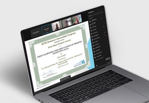 معهد قطر لبحوث الحوسبة في جامعة حمد بن خليفة يختتم برنامج التدريب الصيفي عبر الإنترنت