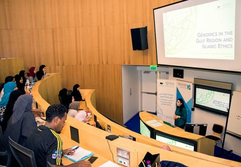 WISH GENOMICS RESEARCH PRESENTED AT HAMAD BIN KHALIFA UNIVERSITY IN QATAR