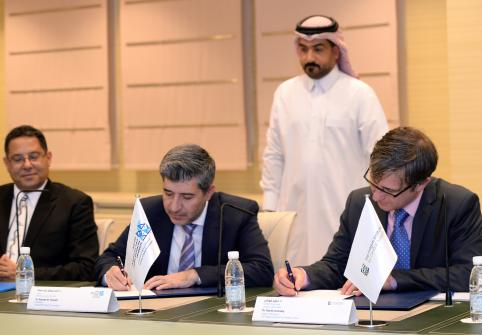 Hamad Bin Khalifa University and The Hague Institute for Global Justice sign Memorandum of Understanding