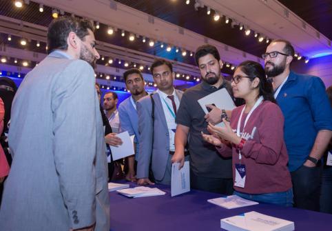 للقاء السنوي المفتوح لطلبة الدراسات العليا بجامعة حمد بن خليفة يُعَرِف الطلاب المحتملين على فرص الدراسات الأكاديمية