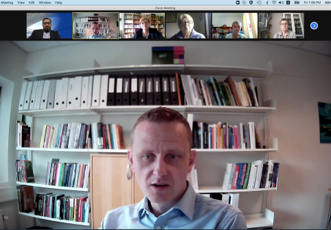 CPP Professor Discusses COVID-19's Impact on European Families and Children at IFHE Brown Bag Webinar