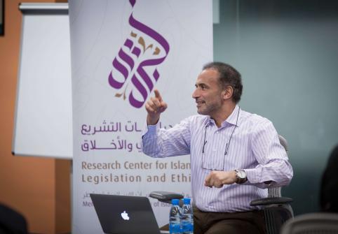 DR. TARIQ RAMADAN CALLS FOR A SPIRITUAL AND INTELLECTUAL REVOLUTION IN ISLAMIC STUDIES