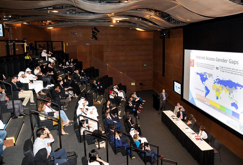 جامعة حمد بن خليفة تشارك في تنظيم مؤتمر عن أدوات التواصل الاجتماعي والقانون