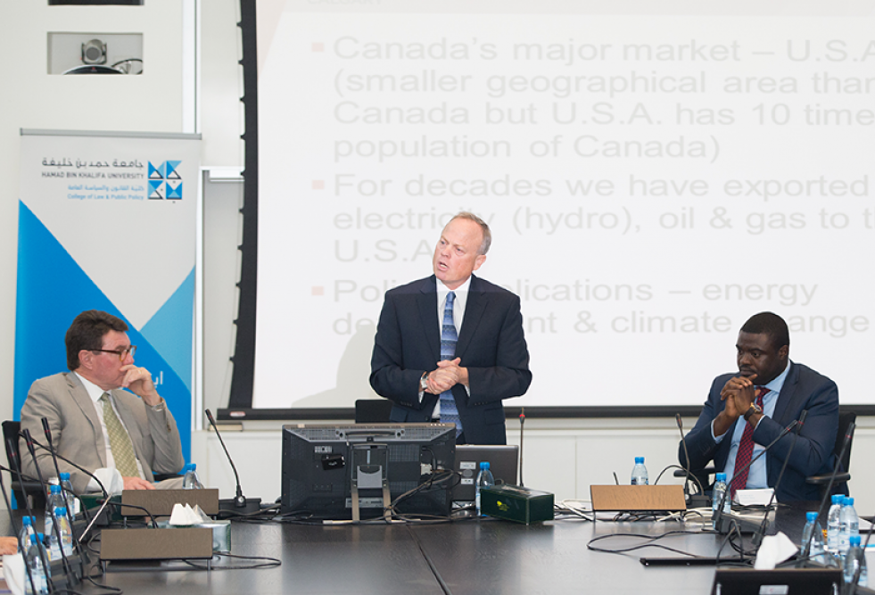 HBKU Hosts Colloquium on  Reducing Greenhouse Gas Emissions