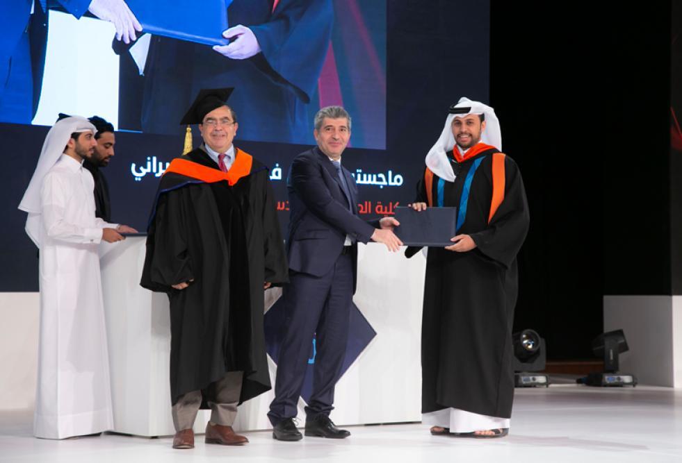 خريجو كلية العلوم والهندسة بجامعة حمد بن خليفة في طليعة مجالات الحوسبة والاستدامة