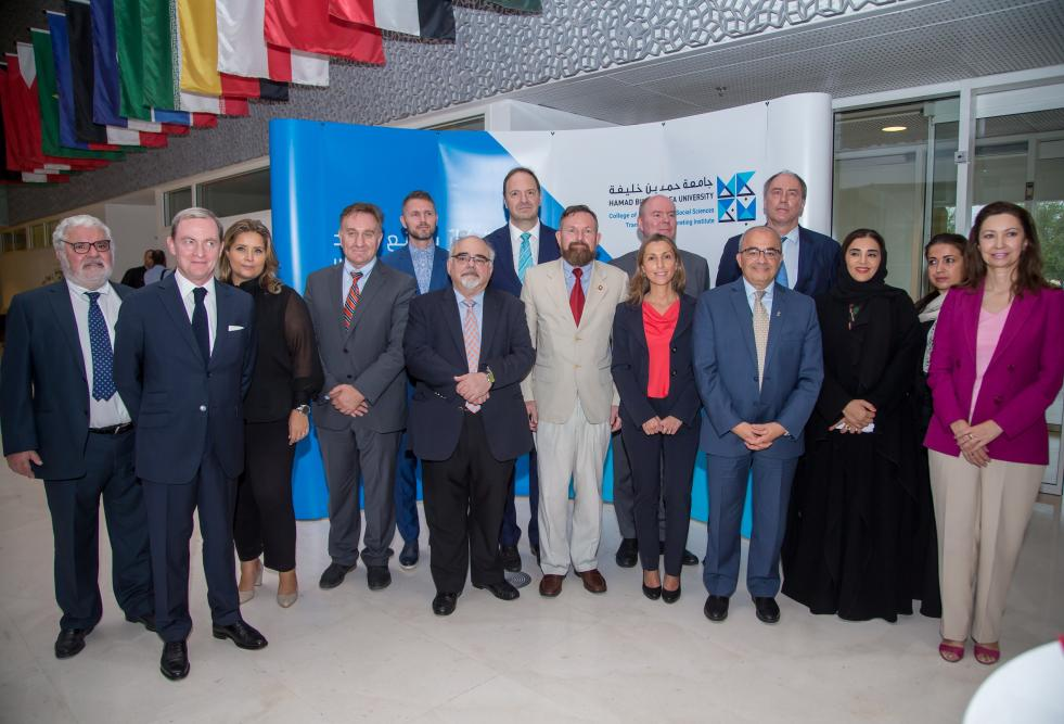 College of Humanities and Social Sciences Marks European Day of Languages with Embassy Gathering at HBKU