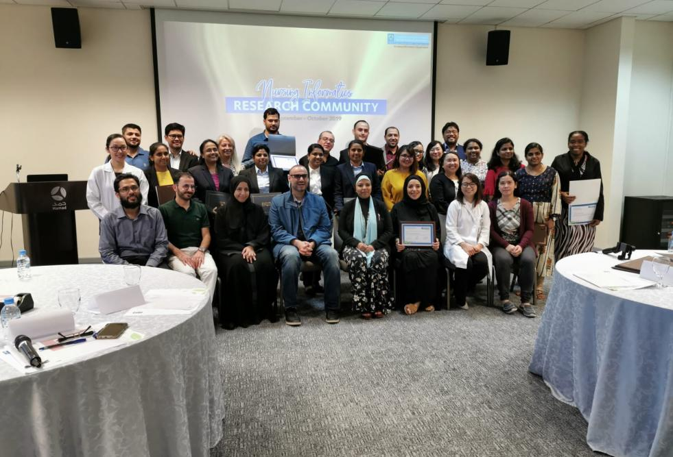HBKU's College of Science and Engineering, and the Qatar Computing Research Institute, recently concluded a nursing informatics workshop in collaboration with Hamad Medical Corporation.